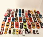 Lot of 54 vintage Hot Wheel Diecast Cars With Case 1986 2014