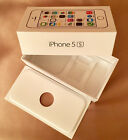 Apple iPhone 5S EMPTY BOX for A1533 Gold 16GB ME307LL A