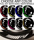YAMAHA YZF R1 INNER RIM DECALS WHEEL STRIPES GP GRAPHICS STICKERS TAPE ANY COLOR