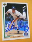 Steve Searcy - 1991 U.D. Autographed Baseball card # 338 - Detroit Tigers - P