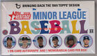 2018 Topps Heritage Minor League Baseball Factory Sealed Hobby Box