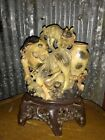 Well  Hand  Carved  Chinese  Tian -Huang  Stone  Boulder