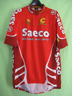 Maillot cycliste Saeco Tour 2001 Cannondale jersey Cycling Jersey Cycling XL