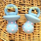 TWO Dog Pacifier Latex Squeaker Dog Puppy Toy Assorted New for your Fur Baby