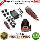 Professional Hair Cutting Kit Machine Grooming Trimmer Clippers Tools Barber NEW