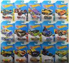 Hot Wheels Complete 2017 Regular TREASURE HUNTS Set of 15 Cars Super LOT
