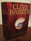 1st Edition Everville Clive Barker Sci Fi Fantasy Horror Thriller First Printing
