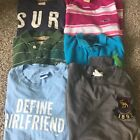 Lot of 6 shirts Hollister/Abercrombie/Polo size small mens