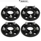 4Pcs 15mm Hubcentric Wheel Spacers Adapters 5x45 for Mazda 3 04+
