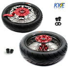 3.5/4.25*17 CST 150 TIRE SUPERMOTO WHEEL FIT HONDA XR650L 1993-2018 RIM + DISC
