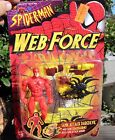 1997 TOY BIZ Marvel Comics Spider Man Web Force Tank Attack Daredevil Armor MOC