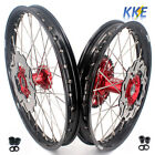 21/18 ENDURO WHEEL SET FOR HONDA XR650R 2000-2008 WITH DISCS  50T SPROCKET