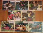 Floods of Fear 1958 Italian Lobby Cards full set of 8 Howard Keel