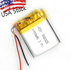 USA Stock 3.7V 190 mAh 502025 Rechargeable Battery Li-Polymer for Bluetooth GPS