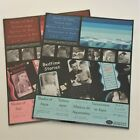 NIP Creative Memories 10X12 Shades of Aqua Blue and Red Photo Mounting Paper LOT