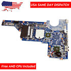 638856 001 HP Pavilion G4 1011NR G7 AMD UMA Laptop Motherboard + Free CPU US
