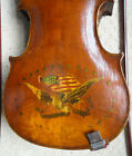 's Americana Violin with Eagle on back