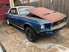 1968 Ford Mustang 1968 Mustang Coupe Project 289 2V Auto
