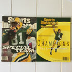 1996 Green Bay Paskers SuperBowl Champ Sports Illustrated Magazines