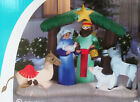NEW Christmas Gemmy 65FT Lighted LightShow NATIVITY Scene Inflatable Airblown