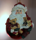 Boyd's Bears Peppermint Nick Christmas Ornament 733353 Santa