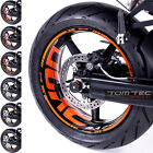WHEEL RIM STICKERS KTM Superduke 990 R SMT SM SMR SD Duke III 3 690 950 Tuning