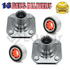 Pair2 New Front Wheel Hub  Bearing Assembly Fits Toyota Tercel Paseo W Seal