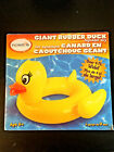 Giant Yellow Duck Pool Floater Inflatable Toy Rubber Ducky Lounger 48 WIDE