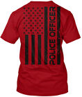 Proud To Be Police Officer Hanes Tagless Tee T Shirt
