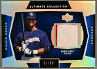 03 Upper Deck UD Ultimate Collection Rickie Weeks MLB JERSEY PATCH #91 99 2003