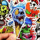 50PCS Cool Skull Stickers Vinyl Skateboard Guitar Travel Case sticker pack decal