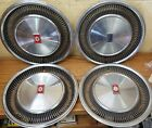 1977 1979 Oldsmobile Ninety Eight 15  Wheel Covers Hubcaps 4051 Set of 4 NOS