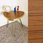 Tripod Mid Century Plant Stand Table Side End Table Hairpin legs Formica Vintage