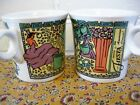2pc ReTiRed Fiesta *LILAC LADY* icon cup *MUG* New-1st