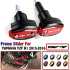 Frame Slider Crash Caps Pads Engine Protector FOR YAMAHA YZF R1 YZF-R1 15-16