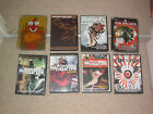 LOT OF 8 X MUSIC BAND DVDS , victory trustkill thrash death metal hxc sxe punk