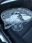 Star Pattern Cake Stand Plate w/ Rum Well