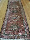 2.2 x 6.2 VINTAGE PERSIAN HERIZ RUG SERAPI ANTIQUE PERSIAN RUNNER SELL AS IS