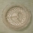 Wexford crystal cut glass divided serving dish bowl tray nuts relish 8 1/2