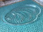 Vintage Federal Snack Plates Glass Clear 1950s