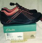 Clarks Outdoor Womens Incast Lace Sneakers Black Size 65 W  NEW IN BOX