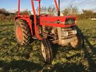 Massey Ferguson 135 Vintage classic Agriculture Tractor Restoration Massey