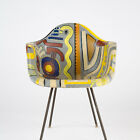 Vintage 2nd Generation Zenith Eames Painted DAX chair Fiberglass Herman Miller