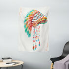 Native American Tapestry Tribe Chief Print Wall Hanging Decor