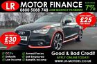 Audi A1 16TDI  105ps  2012 Good Bad Credit Car Finance FR 20 PW