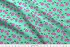 Rockabilly Rockabella Rocknroll Kawaii Fruits Fabric Printed By Spoonflower Bty
