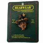 Boyds Halloween Bear Pin Brooch Emma the Witchy Bear Original Backing Packaging
