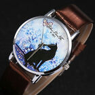 Small Fresh Casual Usual Leather Stainless Steel Quartz Watch Quartz Watch Cheap