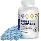 Bronson ONE Daily Mens 50+ Complete Multi vitamin Multi mineral 180 Tablets