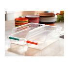 Kitchen Tabletop Durable Storage Box Refrigerator Fruits Bins Drawer with Handle
